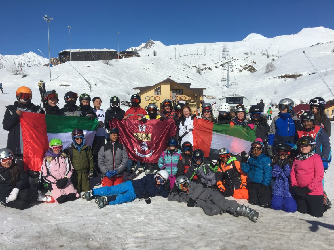 KCD inaugural ski trip