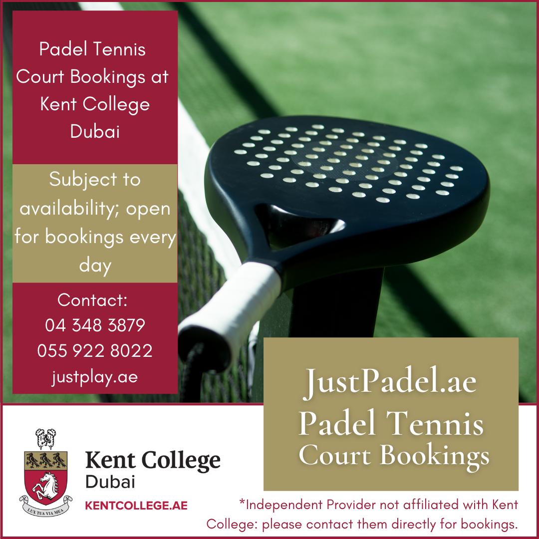 padel tennis courts bookings dubai