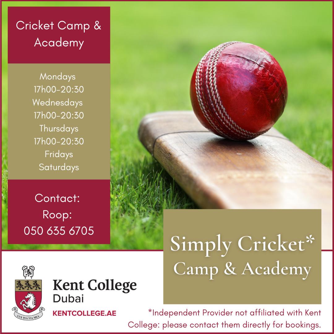 cricket academy dubai