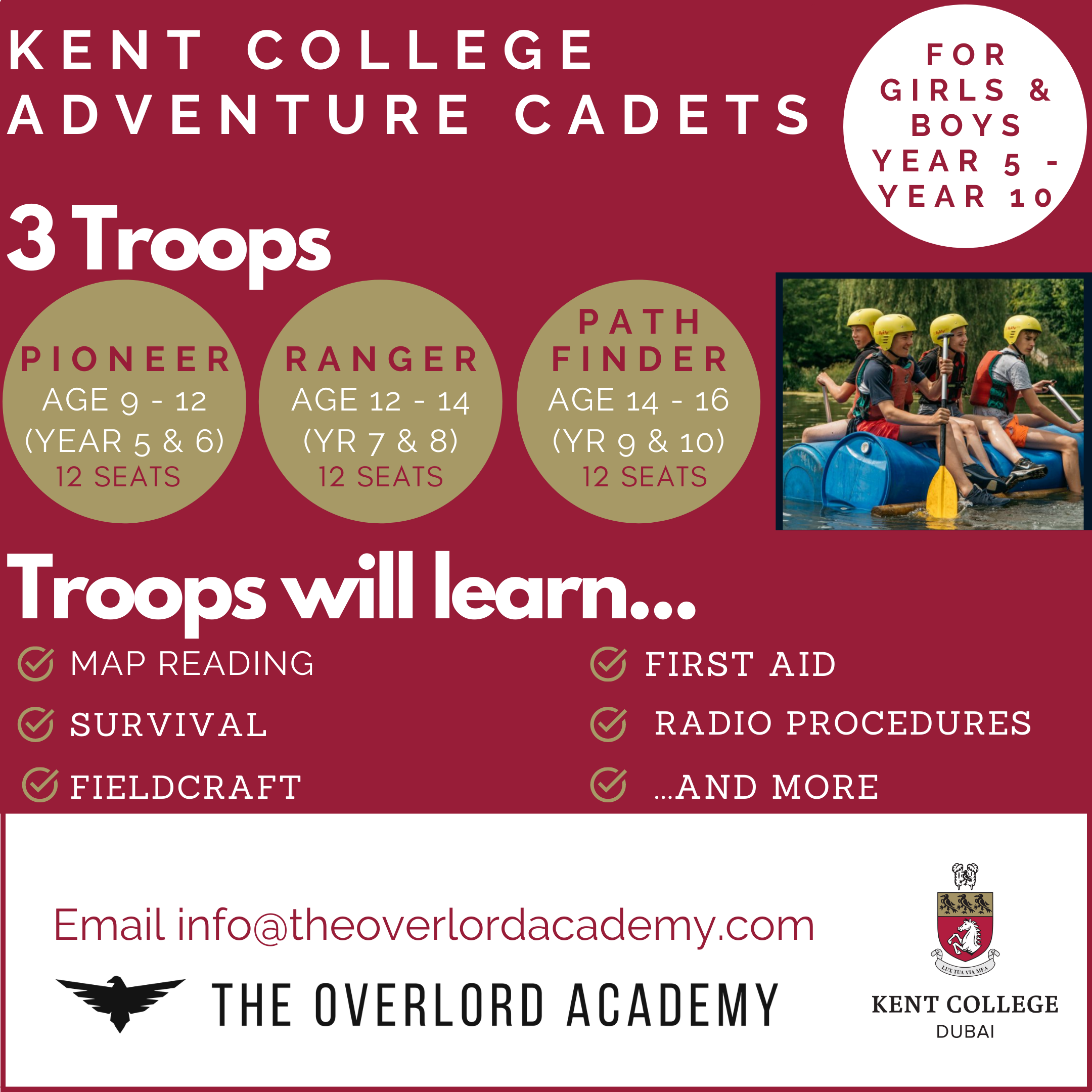 Adventure Cadets The Overlord Academy